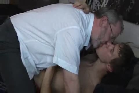young chap seduced by old daddy