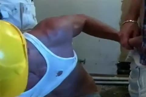 Hard Bodied Muscled Workers In wild Coc ...