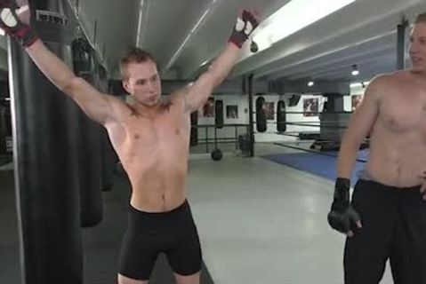 Grabcouch MMA teachers Nuts And It Was All Over