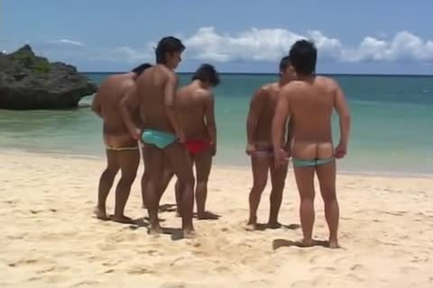 Two asian gays ramrod sucking And butt drilling