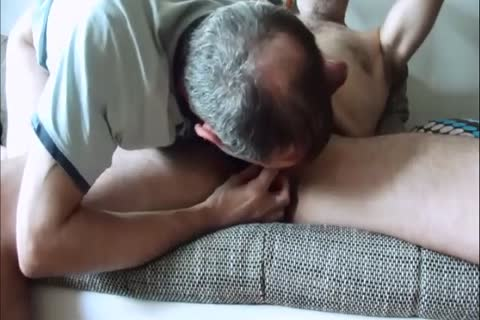 Doing, What I Can Do best. Full fellatio Service To Farmer Bear, His yummy Smelly fat Uncut knob And Sweaty Body After Work.