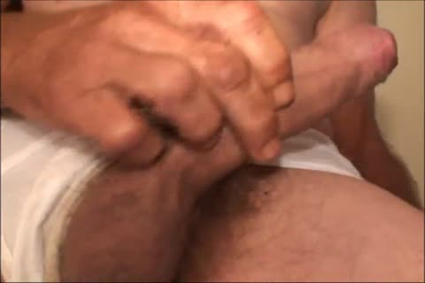 Just A not many Minutes Of A video I Have, An older unsightly chap Shows His delicious large Uncut messy dong And messy butt