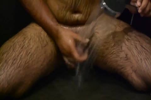 Cumming Twice while Riding dildo In Shower