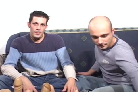 This gay couple Test recent sex-toys