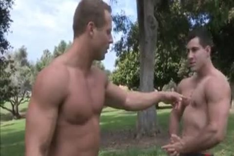 Two BB Muscle studs. One blond Novice