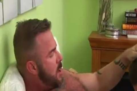 Muscle Daddy And  twink And shoots A biggest Load