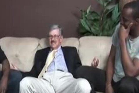 Two Blacks plowing A old dude