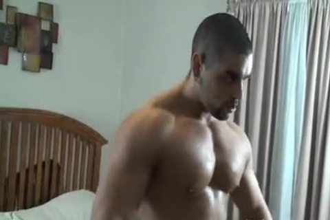 meaty Muscle Hunk bound And Tickled - Angelo Antonio