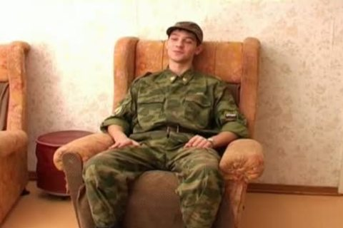 This homo Soldier merely Wants A handjob