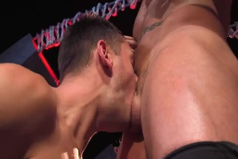Austin Wolf  Uses Brenner's face hole & ass