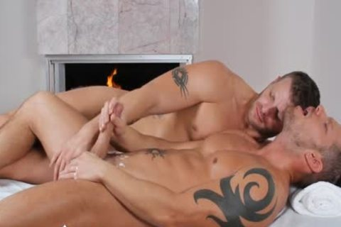 ManRoyale - Shane Frosts Swallows enormous Load From Jeremy Stevens