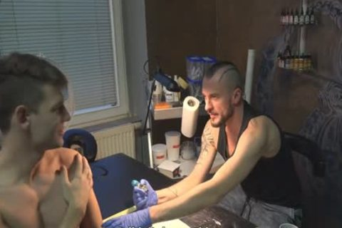 nasty Sex For money In A Tattoo Studio