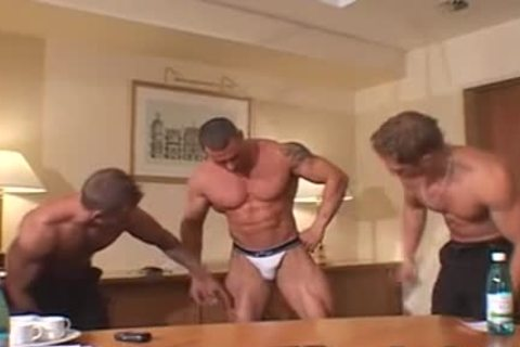 three more nasty Muscle Posers