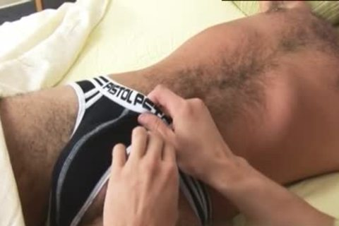 Luscious dude acquires A valuable handjob