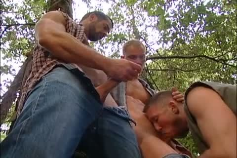 fucking And Fisting In The Forest: Dirk Jager, Lars Svensen & Rick Van Sant