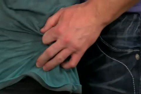 large Manly Hunk Mitch Vaughn bonks The cum Out Of Kyler Moss