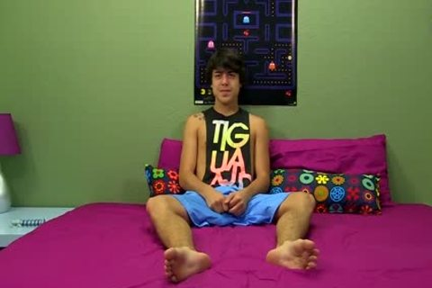attractive teen Tristan Tyler Doing A Solo Session For The Camera