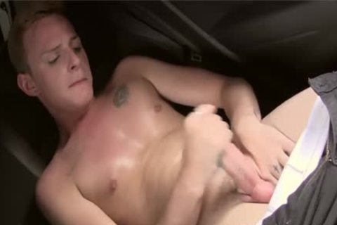 filthy twink With Tattoo Cameron James Jerking His overweight cock