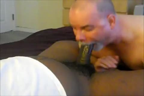 big-donged Nigerian love juices again.  Sunday sucking.