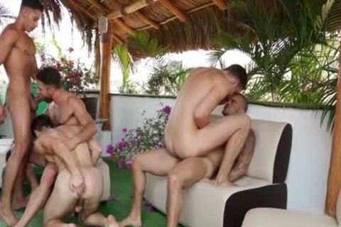 big bunch Of Sizzling homosexual guys Go Keister To Face hole And Go All The Way Some Great Cumshots