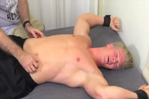 nasty And blond guy Named Seamus acquires Tickled Hard