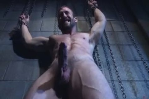 Muscle gay tied And Facial