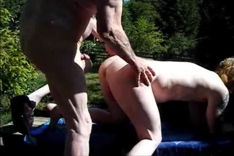 young Redhead raw With old guy