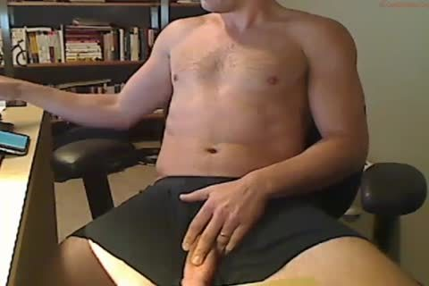 jerking off rod On Camera