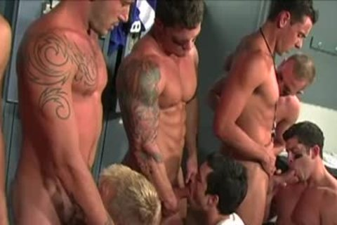 Gridiron gang group-sex: Scene 2