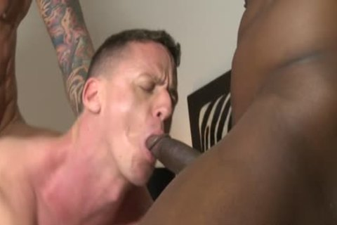 Muscle homo three-some And cumshot