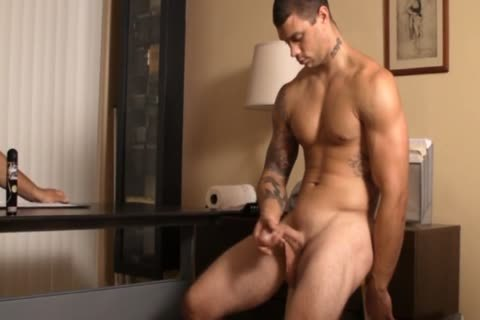 handjob FOR straight  TATTED guy