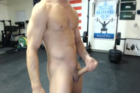 Athlete Cums On Camera