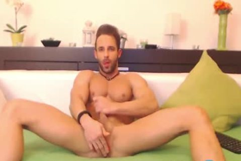 Gustavo Muscle On Flirt4Free boys - Ripped Hunk Dildos His wild arse