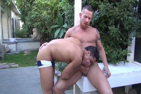 Shane Frost bangs Armond Rizzo bare