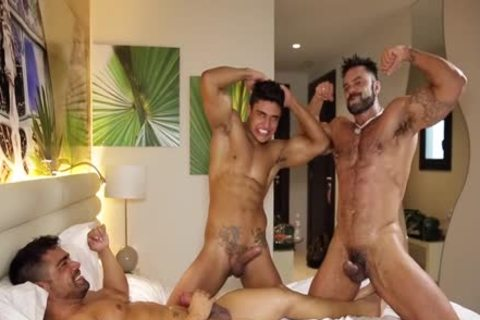 Rogan Richards Sodomizing One As Well As The Other Diego And Wagner