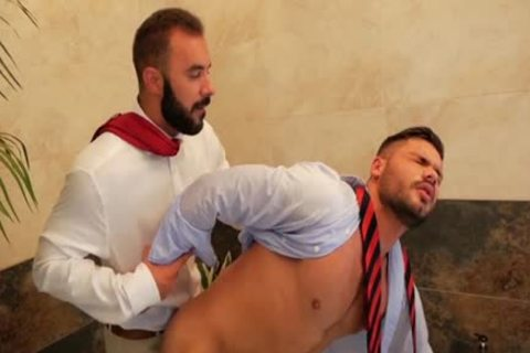 Muscle homosexual Fetish With spunk flow