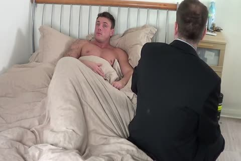 large guy gets A spanking