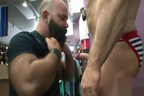 Muscled mature wazoo Nailed from behind