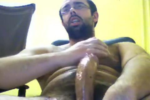 hairy Jacker Packing The big penis
