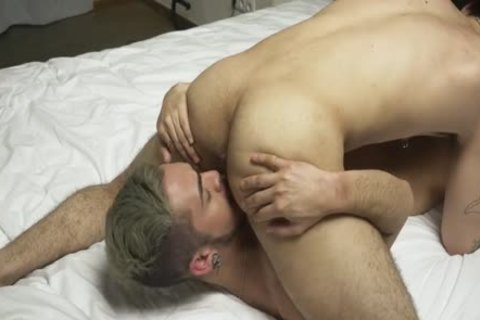 Two handsome fellows Make Love