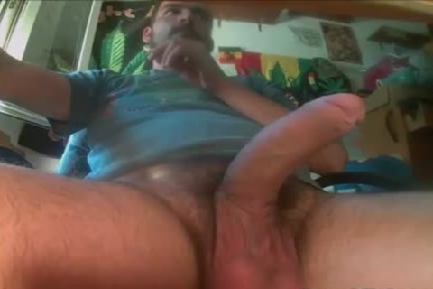 Balls Full Of cum gets Solo Jerked Off