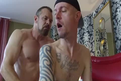 Robert Rexton acquire's poked By Muscle Daddy's Max Sargent & Chance Caldwell
