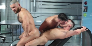 butthole Abduction - Francois Sagat & Lukas Daken large wazoo dril