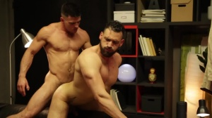 HomoPod - Paddy O'Brian with Enzo Rimenez butthole Licking Hump
