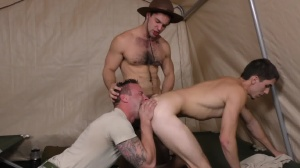 Drill The Sergeant - Damien Kyle and Tanner Tatum Hunk hammer