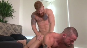 Tattooed And drilled - Bennett Anthony & Sean Duran butthole pound