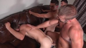 Stepfather's Secret - Dirk Caber with Johnny Rapid butthole dril
