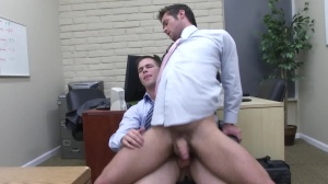 The Office prostitute 2 - Mike De Marko and Jimmy Johnson pooper job