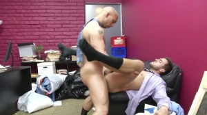 Law And Hoarder - John Magnum and Bryce Star anal Hump