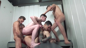 Snap! - Pierre Fitch and Jordan Fox butthole Hump